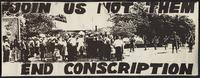 Join us not them : end conscription