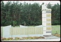 Chelmno Concentration Camp : Jewish commemorative wall element
