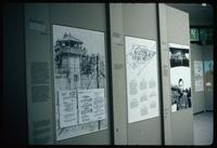 Bergen-Belsen Concentration Camp : Exhibition boards in Documentation Center