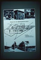 Bergen-Belsen Concentration Camp : Site Plan (Documentation Center)