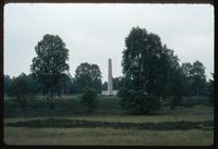 Bergen-Belsen Concentration Camp : Camp Commemorative Obelisk