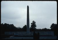 Bergen-Belsen Concentration Camp : Commemorative Wall and Obelisk
