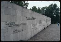 Bergen-Belsen Concentration Camp : National inscriptions on the Commemorative Wall