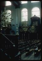 Portuguese Synagogue (Amsterdam, Netherlands) : Synagogue interior detail
