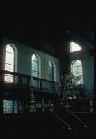 Portuguese Synagogue (Amsterdam, Netherlands) : Synagogue balcony and windows