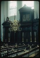 Portuguese Synagogue (Amsterdam, Netherlands) : Interior details of synagogue