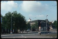 Portuguese Synagogue (Amsterdam, Netherlands) : Wide view of Visserplein