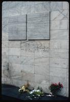 Umschlagplatz Memorial (Warsaw, Poland) : Memorial plaques to the Warsaw Ghetto deportations