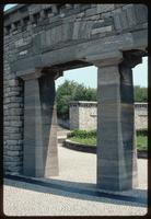 Buchenwald Concentration Camp : Architectural detail of national commemorations