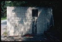 Buchenwald Concentration Camp : Site monument to Frederic-Henri Manhes