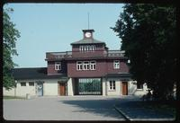 Buchenwald Concentration Camp : Restored main camp entry gate