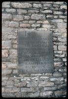Buchenwald Concentration Camp : Plaque commemorating camp inmates from 18 nations