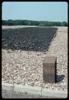 Buchenwald Concentration Camp : Detail of barracks foundation