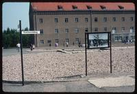 Buchenwald Concentration Camp : Barracks site close-up