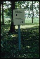 Neuengamme Concentration Camp : Directional sign to camp and work area