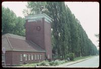 Neuengamme Concentration Camp : Camp administration building and tower