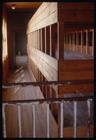 Dachau Concentration Camp : Close-up of inmates beds