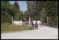 Dachau Concentration Camp : Entry gate and walk to crematorium