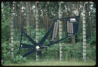 Chelmno Concentration Camp : Abstract artistic site plan of Chelmno