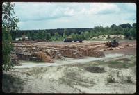 Belzec Concentration Camp : Lumber storage off-site