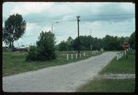 Belzec Concentration Camp : Entry road to camp site