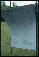 Belzec Concentration Camp : Memorial site plan with tourist entry at bottom center