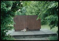 Belzec Concentration Camp : Memorial inscription acknowledging 600,000 victims