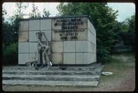 Belzec Concentration Camp : Memorial close-up with commemorative inscription