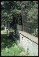 Belzec Concentration Camp : Aged post-war protective site fencing