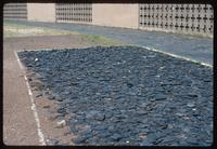 Sachsenhausen Concentration Camp : Detail of shale portion of runway rack
