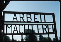 Sachsenhausen Concentration Camp : Camp motto forged as part of entry gate