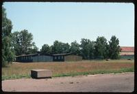 Sachsenhausen Concentration Camp : Rebuilt barracks and block #15