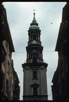 Weissensee Cemetery (Berlin, Germany) : Steeple of unknown Berlin church
