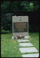Weissensee Cemetery (Berlin, Germany) : Cemetery commemorative marker
