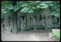 Weissensee Cemetery (Berlin, Germany) : Family graves in Jewish Cemetery