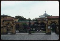 Weissensee Cemetery (Berlin, Germany) : Entry to Berlin Jewish Cemetery