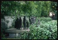 Weissensee Cemetery (Berlin, Germany) : Cemetery commemorative sculpture