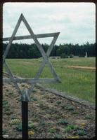 Chelmno Concentration Camp : Commemorative garden plots and wall
