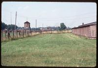 Majdanek Concentration Camp : Field #3 barracks with original camp barracks in background