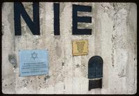 Chelmno Concentration Camp : Wall inscription details