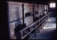 Majdanek Concentration Camp : Close-up of crematorium furnaces