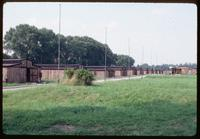 Majdanek Concentration Camp : Line of original barracks structures
