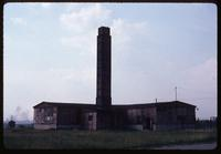 Majdanek Concentration Camp : Side view of crematorium