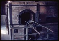 Majdanek Concentration Camp : Interior of crematorium furnace