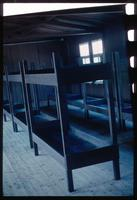 Mauthausen Concentration Camp : Inmate beds in a restored barracks building
