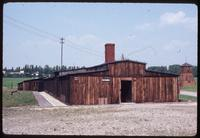 Majdanek Concentration Camp : Restored barracks structure used for inmate disinfection