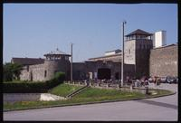 Mauthausen Concentration Camp : Main camp entry from the visitors' parking lot