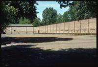 Ravensbrück Concentration Camp : Commemoration Wall and crematorium site
