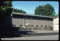Ravensbrück Concentration Camp : Barracks from the crematorium yard