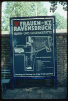 Ravensbrück Concentration Camp : Entry sign at visitors' parking lot